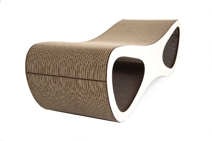 DELUXE DOPPIO CAT SCRATCHER - Lounge Miglio Design - Toy Furniture Pet Quality