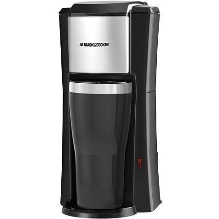 Black & Decker CM618 Single Serve Coffee Maker Uses KCups, Generic pods, & loose grinds!!!! GREAT FOR COLLEGE DORM!!!