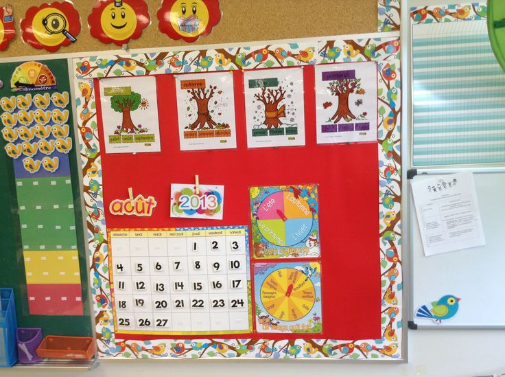 Organisation of my kindergarden classroom