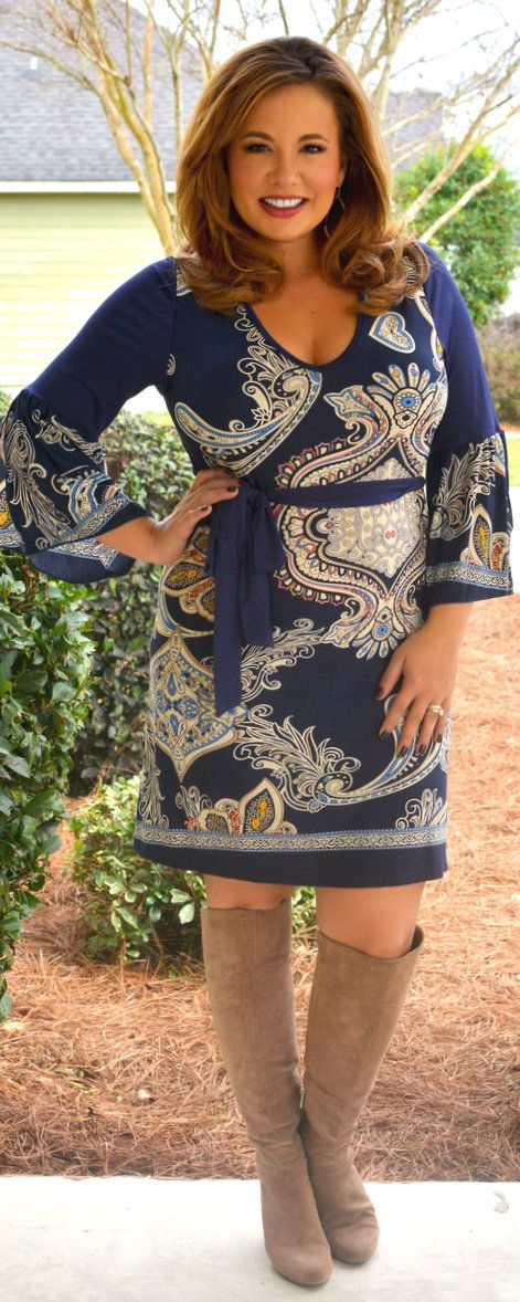 Perfectly Priscilla Boutique - Tried And True Dress, $44.00 (http://www.perfectlypriscilla.com/tried-and-true-dress/)