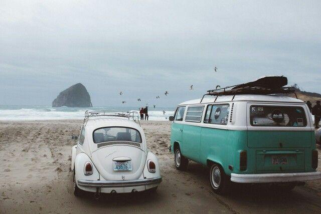 Sea and car