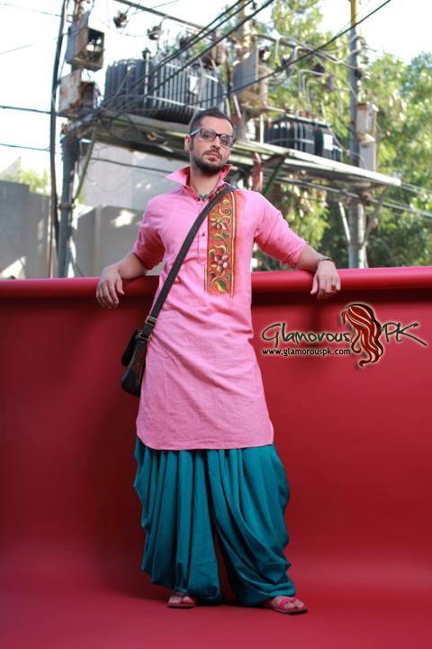 Arsalan And Yahseer Summer 2012 Rangeen Kurta Collectionn
