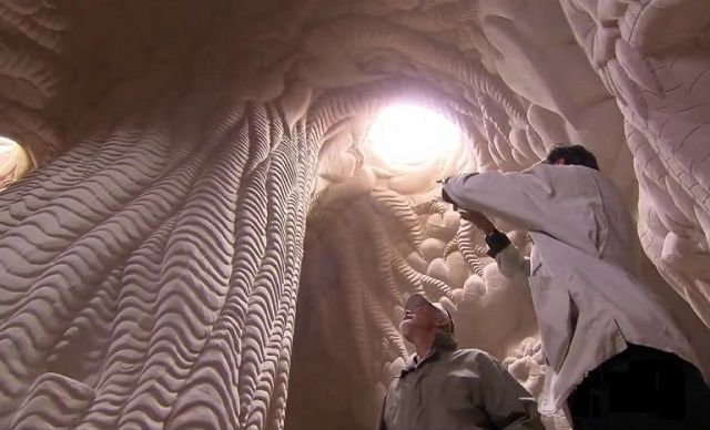 A man who lived in a desert for a quarter of a century to create masterpieces