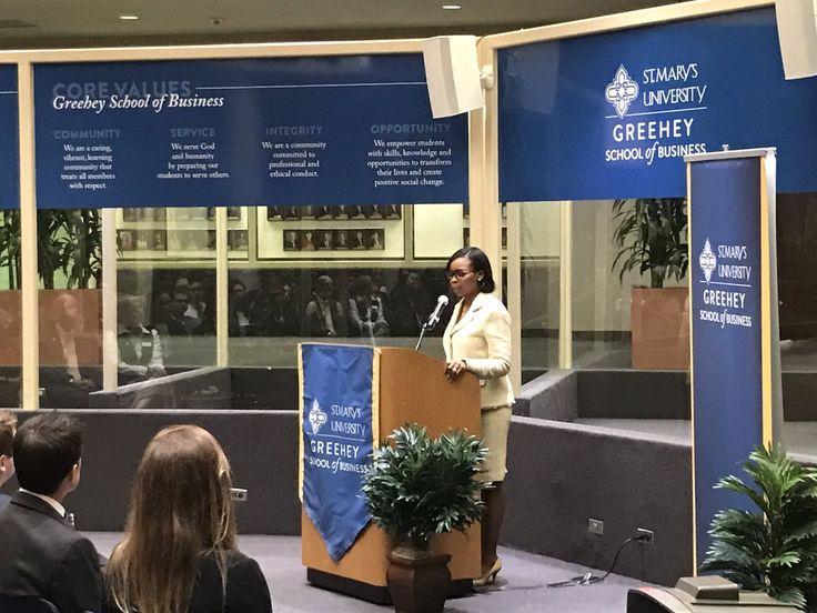 The Hon. Ivy Taylor, Mayor of San Antonio, kicks off Business Week as the La Quinta Keynote Lecture speaker.