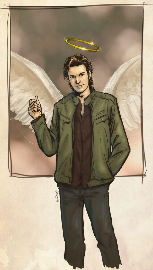 supernatural gabriel and art - photo #4