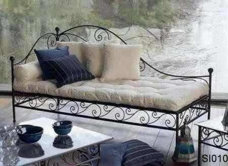 sillon cama de hierro