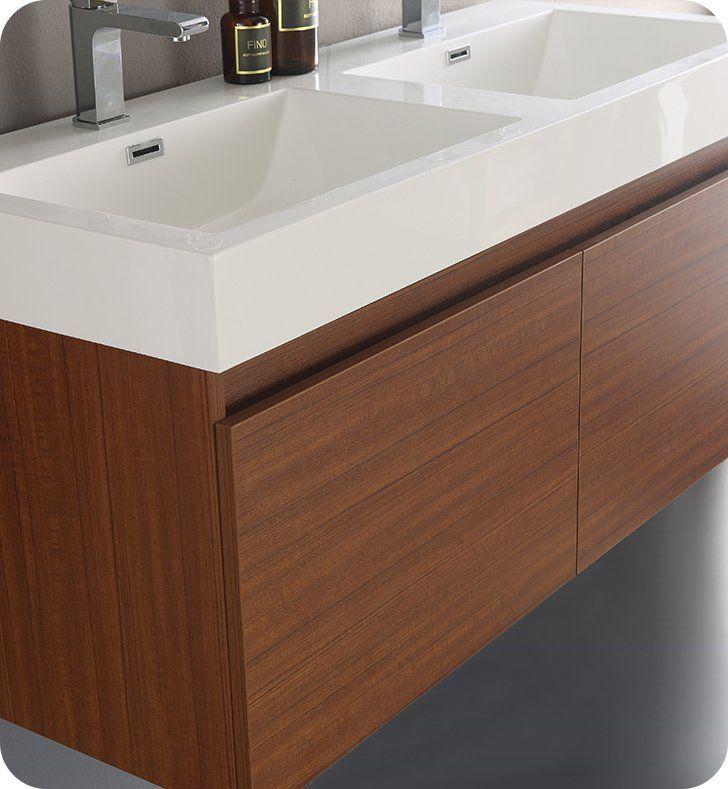 Fresca Fcb8012tk I Mezzo 48 Modern Bathroom Vanity With Double