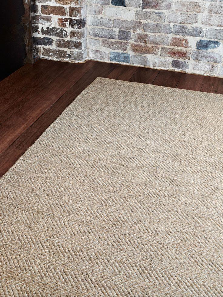 Herringbone Weave  by Armadillo and Co | handmade fair trade rugs