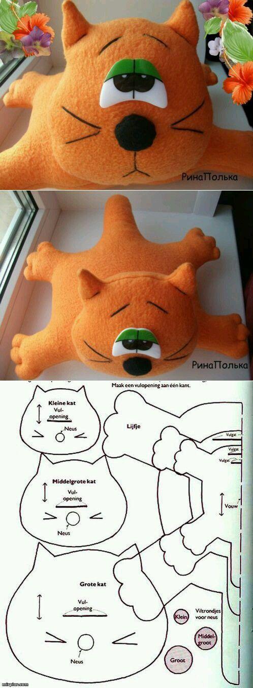 Gato - molde