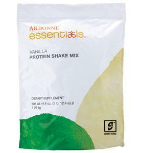 Protein Shake Mix, Vanilla from Arbonne