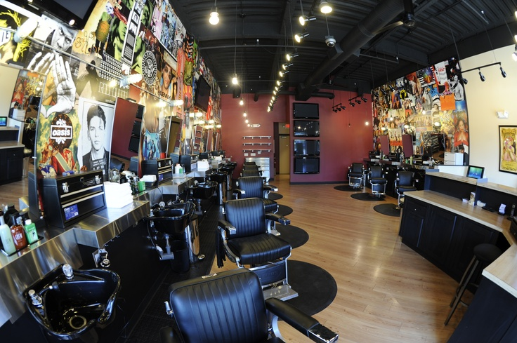Barber Shop Irvine : 1000+ images about Environment on Pinterest Vinyls, Store fronts and ...