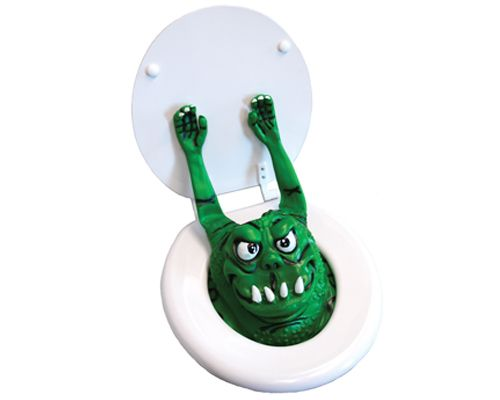 THE TOILET MONSTER $16.99: Big Mouths, Green Home, Gifts Ideas, Toilets Monsters, Pranks, Home Kitchens, Gag Gifts, April Fools, Lemonade Mouths