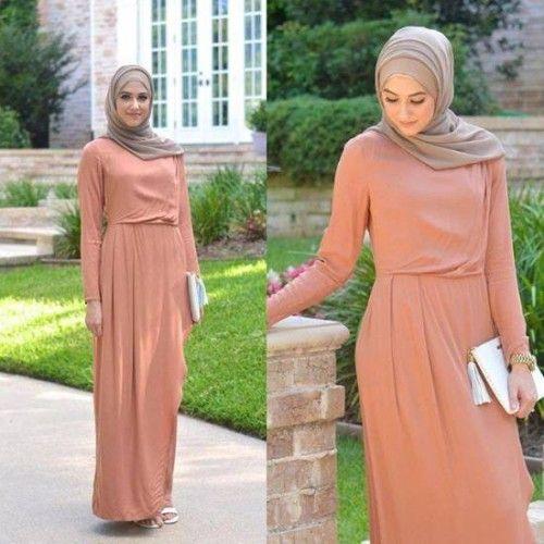 classy hijab dress