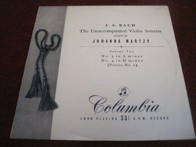 Archived 585 Johanna Martzy Violin Solo Bach Sonatas 3 And 4 Uk Columbia 33cx 128 Vinyl Https T Co Sbxkdtsdui Https T Co Xbgcc Violin Book Cover Bach