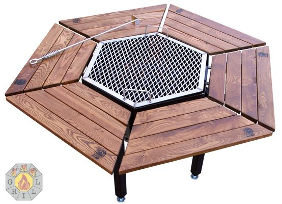 Korean bbq grill table woodworking projects plans - How to build a korean bbq table ...