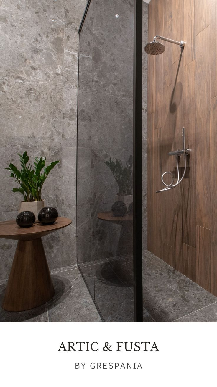 Porcelain tiles are easy to clean and prevents the growth