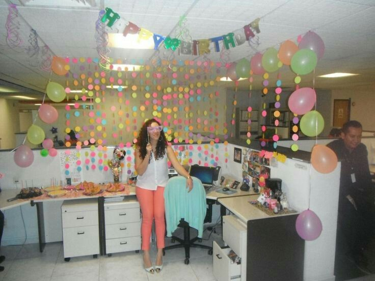 103 best oficina deco images on pinterest offices birthdays and birthday decorations for Deco oficina