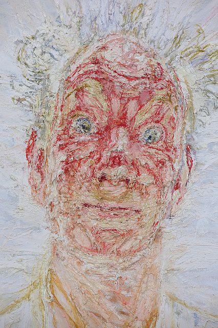Gijsbert van der Wal: Hoogst merkwaardig zelfportret van Willem uit 1997 in Museum Schloss Moyland