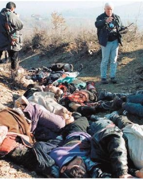 Bosnian Genocide refers to either genocide at Srebrenica and Žepa committed by Bosnian Serb forces in 1995 or the ethnic cleansing campaign throughout areas ...