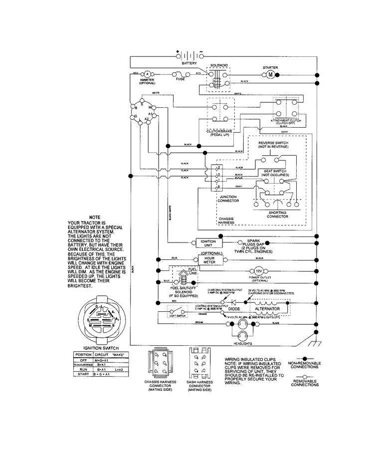 Craftsman Tractor Belt Diagram