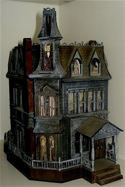 The Addams Family Mansion - Doll House - Want.