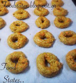 Αλμυρά κουλουράκια με καρότο (νηστίσιμα) - Food States