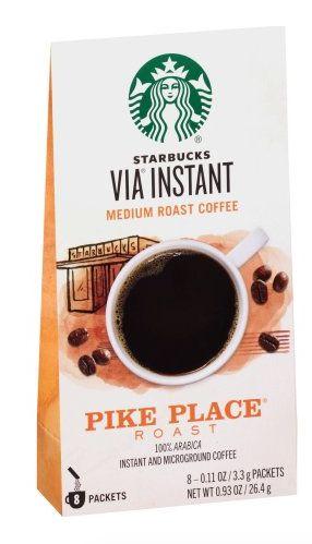 Starbucks Coupon: Score $1 Off Any Starbucks Via Black Coffee Score $1 off any one Starbucks Via black coffee with our Starbucks coupons. CouponDad can't f