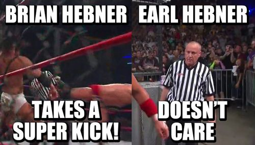 Scumbag Earl    #wrestling  #tna  #lockdown  #brian #hebner #earl #hebner