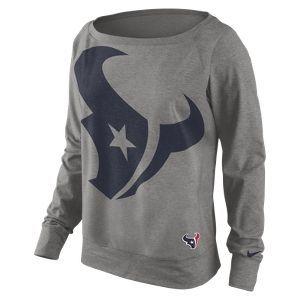Nike Wildcard Epic (NFL Texans) Women's Sweatshirt... Game day!