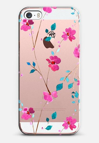 Cherry Blossom iPhone SE case by @yazraja | @casetify