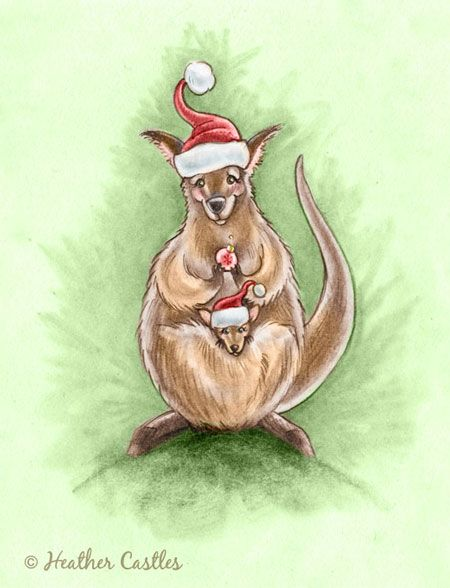 Google Image Result for http://www.illustrationcastle.com/blogimages/Kangaroos_Christmas.jpg