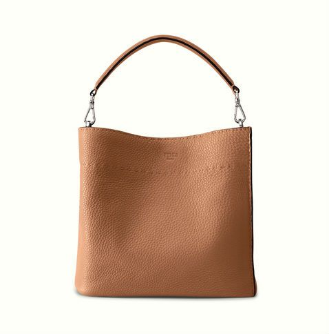 The Fendi Anna Selleria bag in toffee.