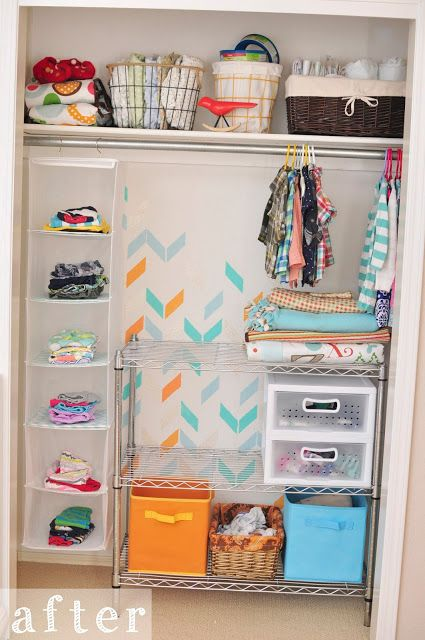 Delineate Your Dwelling Kids Closet Makeover