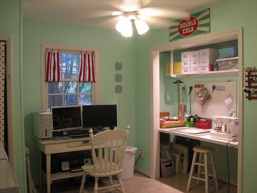 Craft Desk/computer Desk | Shannon Miller | Flickr
