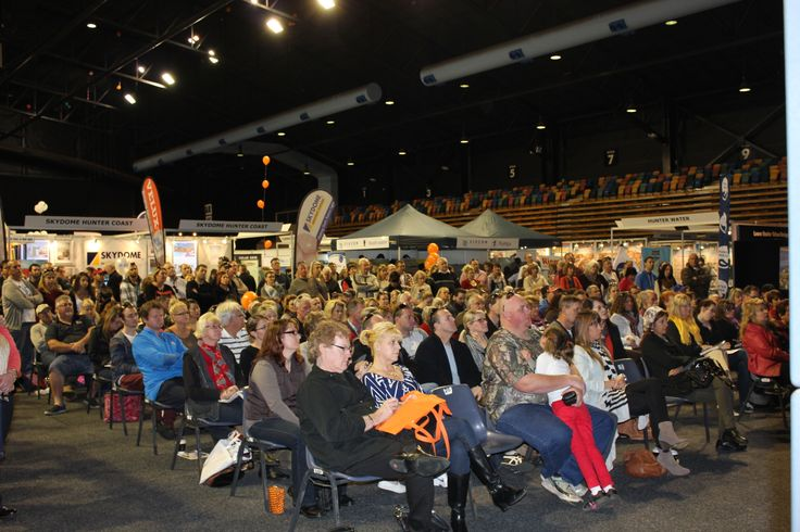 Audience from the 2013 Newcastle Home Show.
