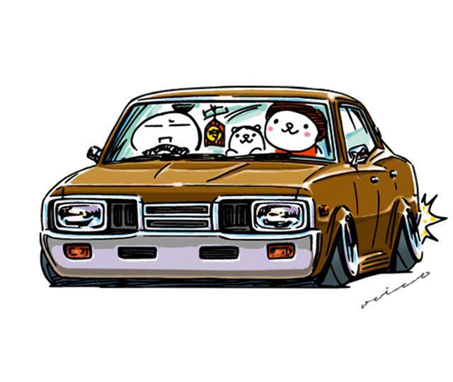 """crazy car art"" jdm japanese old school ""330"" original characters ""mame mame rock"" / © ozizo Official web shop ""STAY CRAZY (in Society6)"" Official web shop ""ozizo(in Redbubble"") ""Crazy Car Art"" Line stickers ""Crazy car Art"" Telegram stickers"