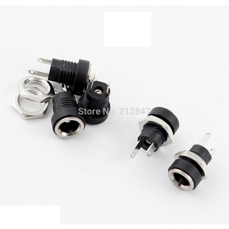 11876 best electrical equipment & supplies images on pinterest  5pcs 5 5mm x 2 1mm dc power jack socket female panel mount connector