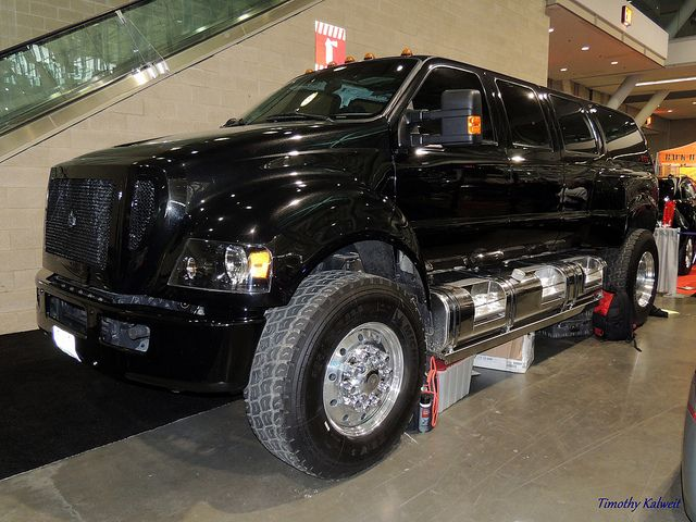 Ford F-550 CREW 4X4 DIESEL DUALLY FLATBED TOW (2015) : Commercial ...