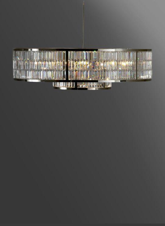 Phillips & Wood Millfield Chandelier - modern crystal chandelier