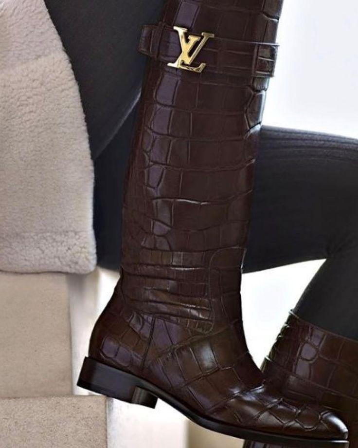Botas Louis Vuitton #botas #boots #louisvuitton #louisvuittonshoes #louisvuittonboots #brown #marrones #piel #leather