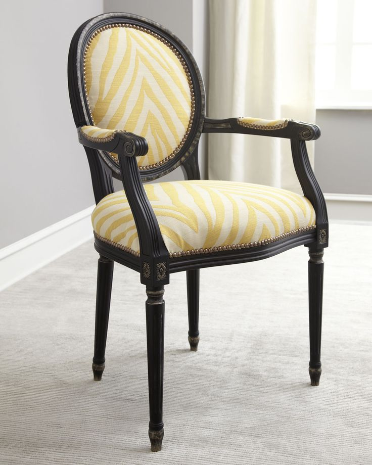Old Hickory Tannery Lenoir Yellow Sofa: Old Hickory Tannery Gretna Yellow Armchair