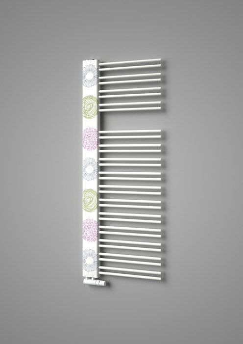 Design radiator Swingo with printed motif