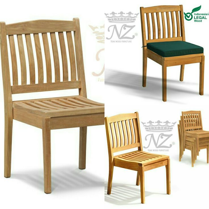 Price $113 Hilsppiney Chairs. Hilsppiney Chairs Our great value is popular teak garden choices. Made from teak plantation, this outdoor chair is a garden chair that will give you trouble-free pleasure. Outside chairs made of teak wood such as patio chairs bring open air dining to new heights and the style and comfort of this modern stacking terrace chaise will impress your family and friends. *.Size : W 50 x D 55 x H 91 cm  Contact Whatsapp: +62-856-4072-2711