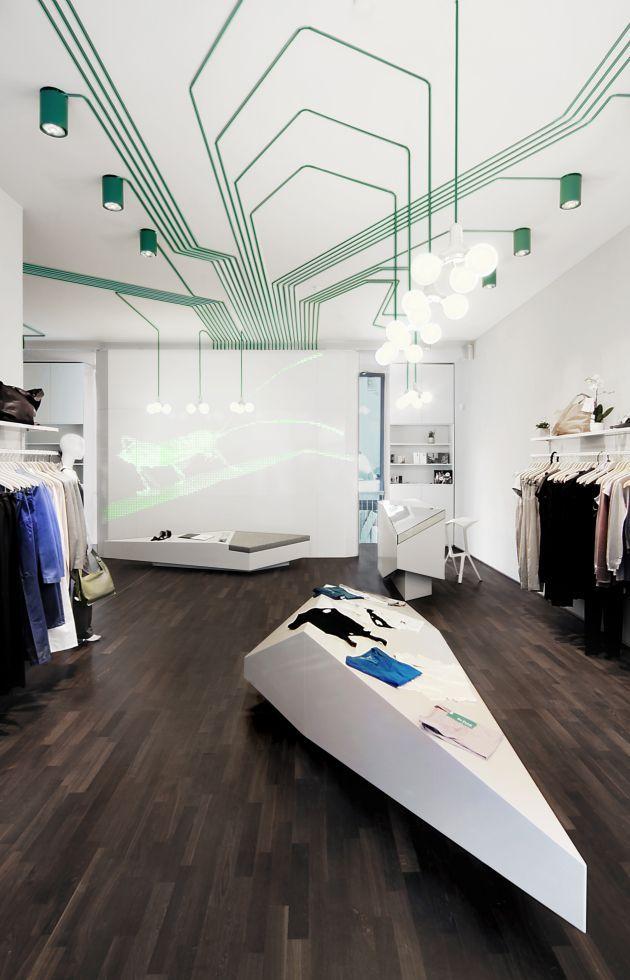 The MAYGREEN Shop Interior by KINZO