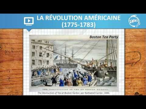 Allô prof - La Révolution américaine (1775-1783) - YouTube