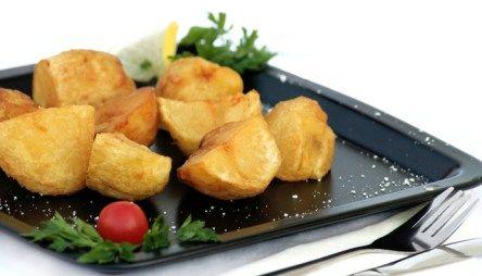 Krokante verse aardappels uit de Airfryer