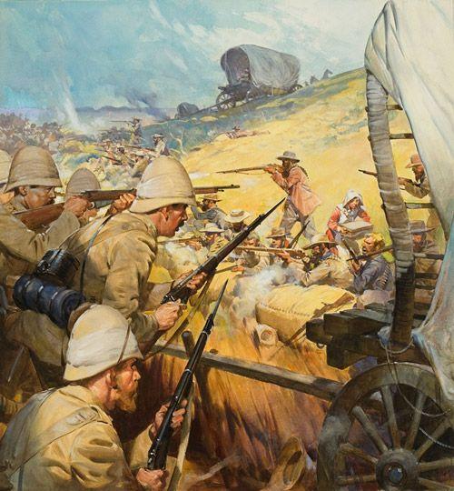 1900 - The Boer War  The Battle of Spion Kop