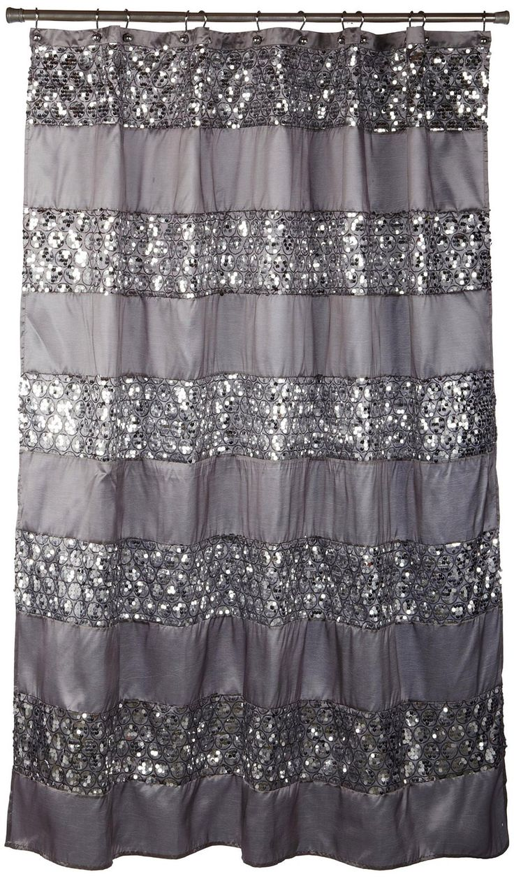 Update your bathroom with this chic shower curtain - Casa.com