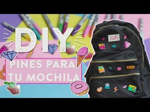 DIY ☆ !HAZ PINES FÁCILES Y RAPIDOS! ☆ KPOP, ANIME, POKEMON GO, KAWAII ✎ REGRESO A CLASES l Fabbi Lee - YouTube