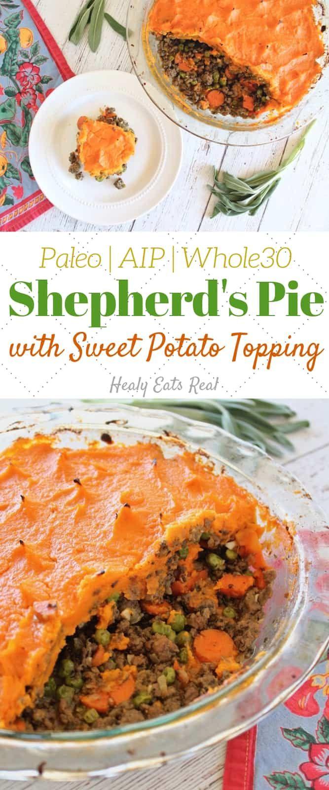 Shepherd's Pie Recipe with Sweet Potato (Paleo, AIP, Whole30)